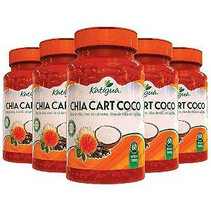 ChiaCartCoco - 5 unidades de 60 Cápsulas - Katigua