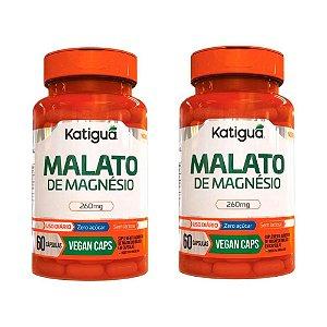 Kit Magnésio Dimalato Suplemento Vegano 120 Cápsulas Katigua