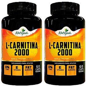 L-Carnitina 2000 - 2 unidades de 60 Cápsulas - Katigua Sport
