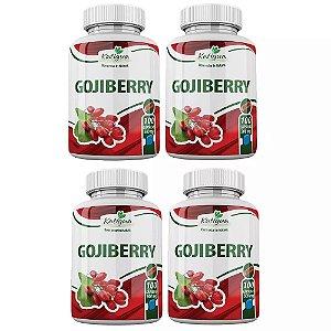 Goji Berry - 4 unidades de 100 Cápsulas - Katigua