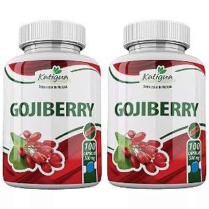 Goji Berry - 2 unidades de 100 Cápsulas - Katigua