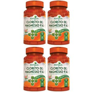Kit Cloreto de Magnésio Em Cápsulas P.A. Katigua 240 Cáps