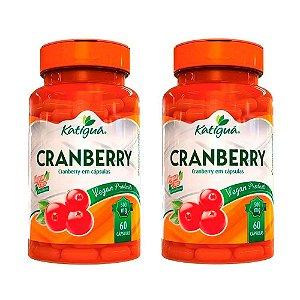 Kit Cranberry Katigua Antioxidante Suplemento 120 Cápsulas