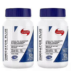 Omegafor Plus - 2x 120 cápsulas - Vitafor