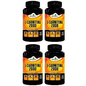 L-Carnitina 2000 - 4 unidades de 60 Cápsulas - Katigua Sport