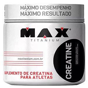 Creatine - 100 gramas - Max Titanium