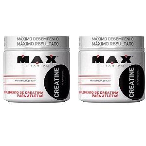 Creatine - 2x 100 gramas - Max Titanium