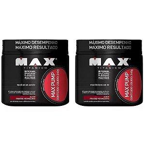 Max Pump (pré treino) - 2x 240 gramas - Max Titanium val:03/2019