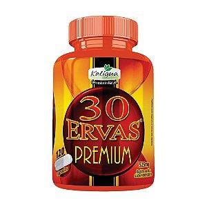 Chá 30 Ervas Premium - 120 cápsulas - Katigua