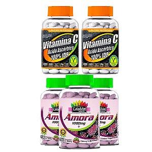 Combo 3 Amoras e 2 Vitaminas C - Lauton