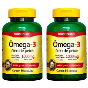 Ômega 3 - 2x 60 Cápsulas - Maxinutri