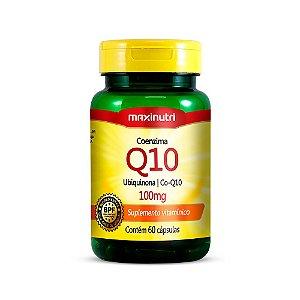 Coenzima Q10 100mg - 60 Cápsulas - Maxinutri