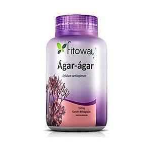 Ágar-Ágar - 60 Cápsulas - Fitoway