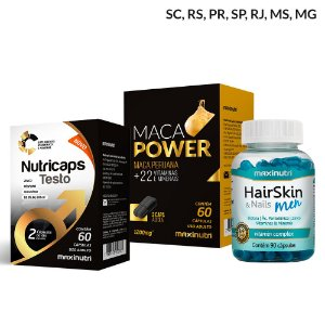 Combo Saúde Masculina - Maxinutri