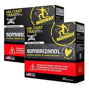 Somarizanol USA Military Trail - 2 unidades de 30 cápsulas - Midway