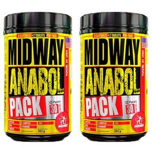 Anabol Pack USA - 2 unidades de 30 Pack - Midway