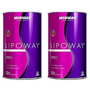 Lipoway Glamour Nutrition - 2 unidades de 120 cápsulas - Midway