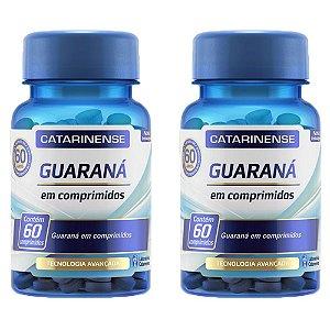 Guaraná - 2 unidades de 60 cápsulas - Catarinense