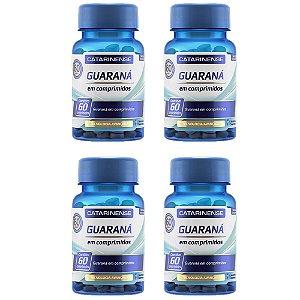 Guaraná - 4 unidades de 60 cápsulas - Catarinense