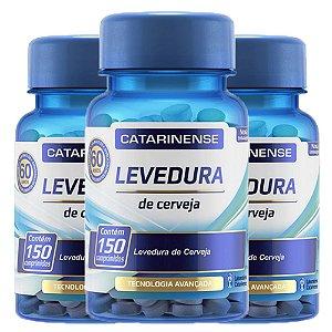 Kit Levedura de Cerveja Catarinense Suplemento 450 cápsulas