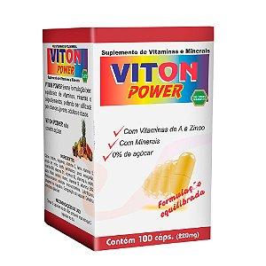 Polivitamínico Viton Power 220mg - 100 Cápsulas - Melcoprol