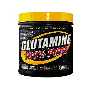 Glutamine Powder 100% Pure - 300 Gramas VENCIMENTO 07/2021 - Lauton
