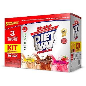 Diet Way Program 3 em 1 - 900 Gramas - Midway