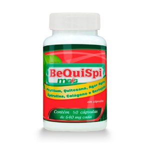 Emagrecedor Bequispi Mais - 60 Cápsulas - Promel