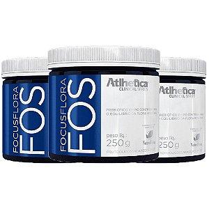 Focus Flora FOS - 3 unidades de 250 Gramas - Atlhetica