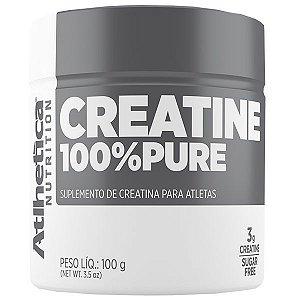 Creatina 100% Pure - 100 Gramas - Atlhetica