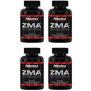 ZMA (Zinco, Magnésio e Vitamina B6) – 4 unidades de 90 cápsulas - Atlhetica