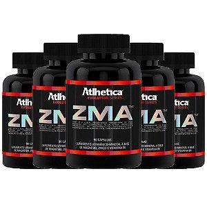 ZMA (Zinco, Magnésio e Vitamina B6) – 5 unidades de 90 cápsulas - Atlhetica