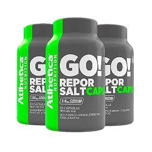 Kit Repor Salt Atlhetica Em Cápsulas Suplemento 90 Cáps