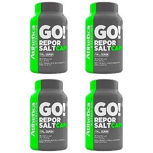 Kit Repor Salt Atlhetica Em Cápsulas Suplemento 120 Cáps