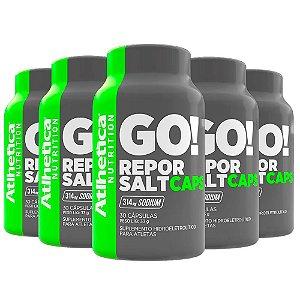 Kit Repor Salt Atlhetica Em Cápsulas Suplemento 150 Cáps