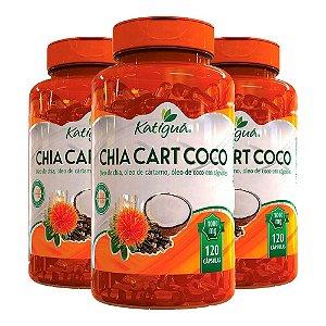 ChiaCartCoco - 3 unidades de 120 Cápsulas - Katigua