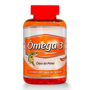 Ômega 3 Óleo de Peixe - 250 cápsulas - Promel