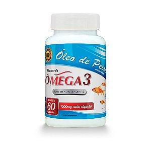 Óleo de Peixe Ômega 3 - 60 cápsulas - Promel