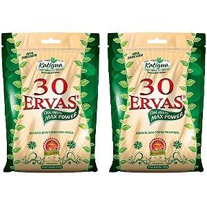 Chá misto 30 Ervas - 2 unidades de 120 Gramas - Katigua