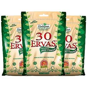 Chá misto 30 Ervas - 3 unidades de 120 Gramas - Katigua