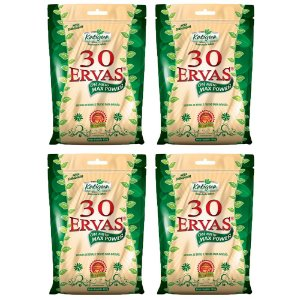 Kit Chá Misto 30 Ervas Katigua Mate Natural 480g
