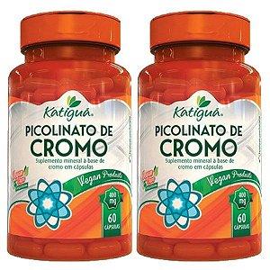 Picolinato de Cromo - 2 unidades de 60 cápsulas - Katigua