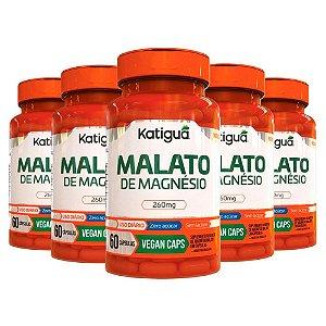 Kit Magnésio Dimalato Suplemento Vegano 300 Cápsulas Katigua