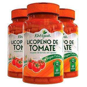 Licopeno de tomate - 3 unidades de 60 Cápsulas - Katigua