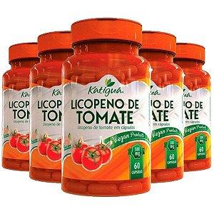 Licopeno de tomate - 5 unidades de 60 Cápsulas - Katigua