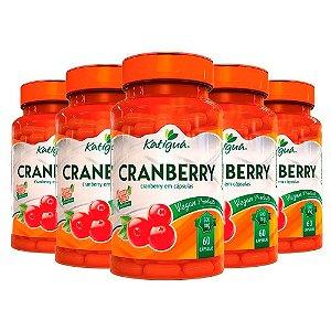 Kit Cranberry Katigua Antioxidante Suplemento 300 Cápsulas