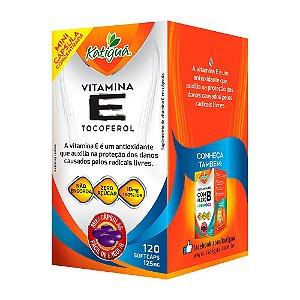 Vitamina E Tocoferol - 120 Cápsulas - Katigua