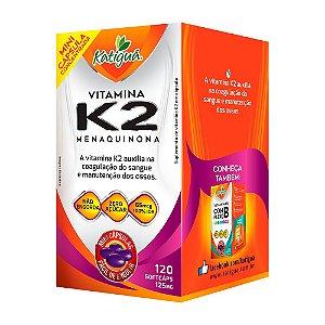 Vitamina K2 Menaquinona - 120 Cápsulas - Katigua