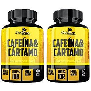 Cafeína e Cártamo - 2 unidades de 60 Cápsulas - Katigua Sport