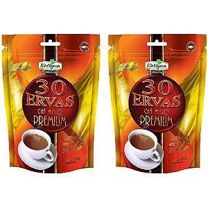 Chá misto 30 Ervas Premium - 2 unidades de 120 Gramas - Katigua